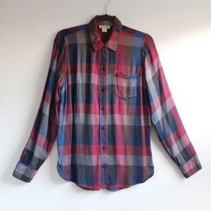 Adorable Lucky Brand Flannel